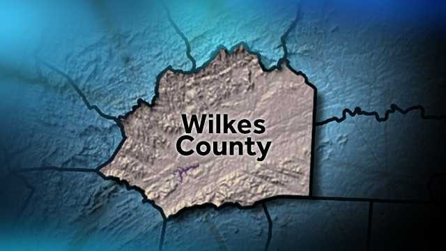 Wilkes County map