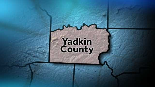 Yadkin County map