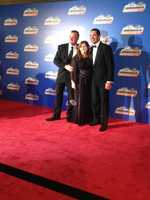 WXII's Nicole Ducouer was at the NASCAR banquet in Miami earlier this week. Check out these photos! ... Mike and Tina Dillon on the red carpet with driver Max Papis