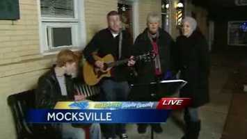 We have live music to keep us entertained in Mocksville.