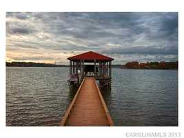 Pier with Boat Lift