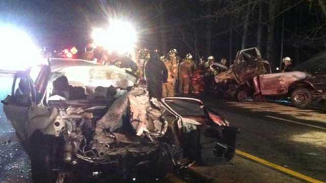 Wrong way chase, crash in Virginia