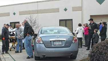 Pedestrian collision outside Millennium Charter Academy