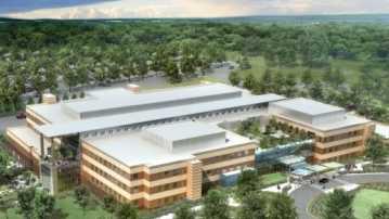 Artist rendering of VA medical center in Kernersville