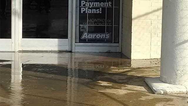 Aaron's flooded in Winston-Salem