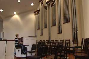 King Moravian Church spent more than 20 years raising money for the building of its pipe organ. It made its debut on Easter Sunday of 2011.