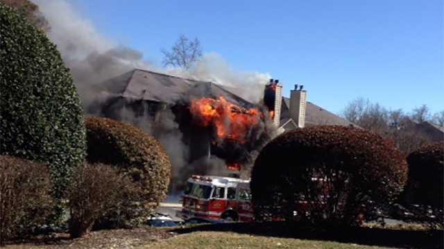 Greensboro apartment fire
