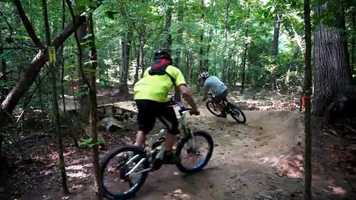Donations and grants have helped the building of Kernersville Mountain Bike Park. Phase 2 of the park's building is scheduled for this spring, weather permitting.