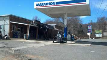 Here is a collection of 'u local' and Facebook photos of wind damage in the Foothills and Virginia. This photo is Cana, Va. |Submit your photo with 'u local'