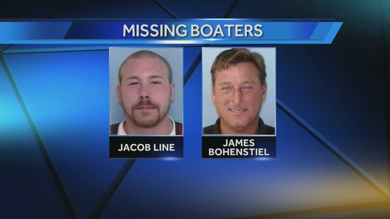 Missing boaters identified