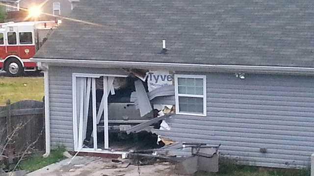 Car crashes into Winston-Salem home