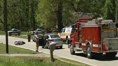 Deadly motorcycle crash in Thomasville