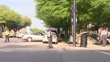 Deadly crash in downtown Shelby