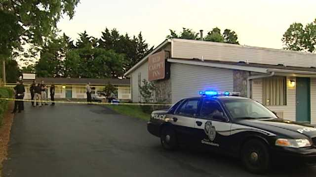 Homicide investigation at Red Carpet Inn in Greensboro