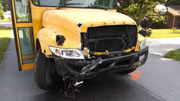 No passengers were on the bus, and the injured were in two passenger vehicles, troopers said.