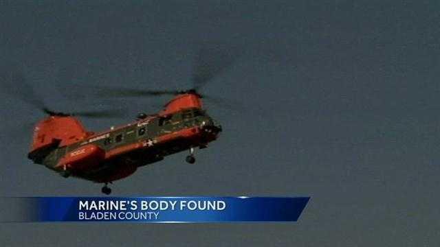 Marine body found image