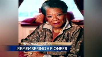 Click through for more images of Dr. Maya Angelou.