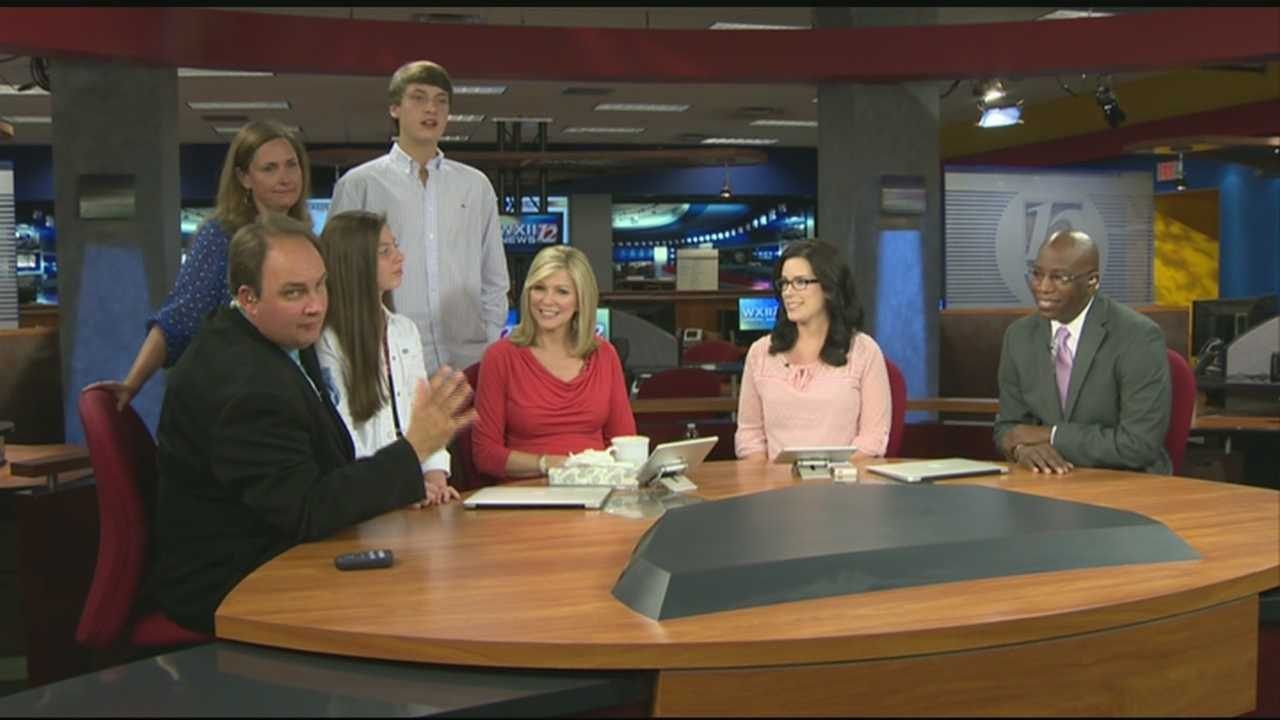 May 30, 2014: Austin Caviness says goodbye on his last segment of WXII 12 News Mornings.