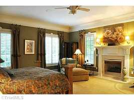 Master Bedroom Suite with fireplace