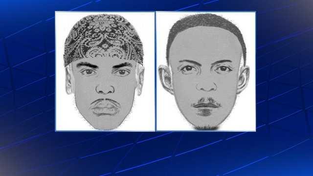 Burlington shooting suspect composites
