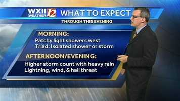 After two evenings of strong storms, it appears another round is on the way