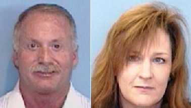 Anthony Campbell, left, and Joyce Eaton, right