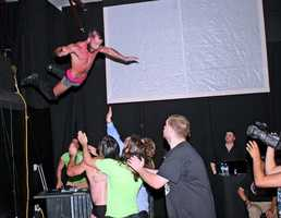 If you would like to see a show, contact about hosting a party, or training at the dojo check out their website http://cwf247.com/wp/ or stop by the Mid-Atlantic Sportatorium at 1001 Springwood Ave. Gibsonville, NC 27595