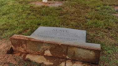 Headstones vandalized at Gaston County cemetery