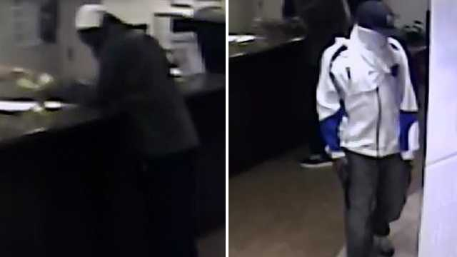 Surveillance images of Winston-Salem Quality Inn robbery suspects