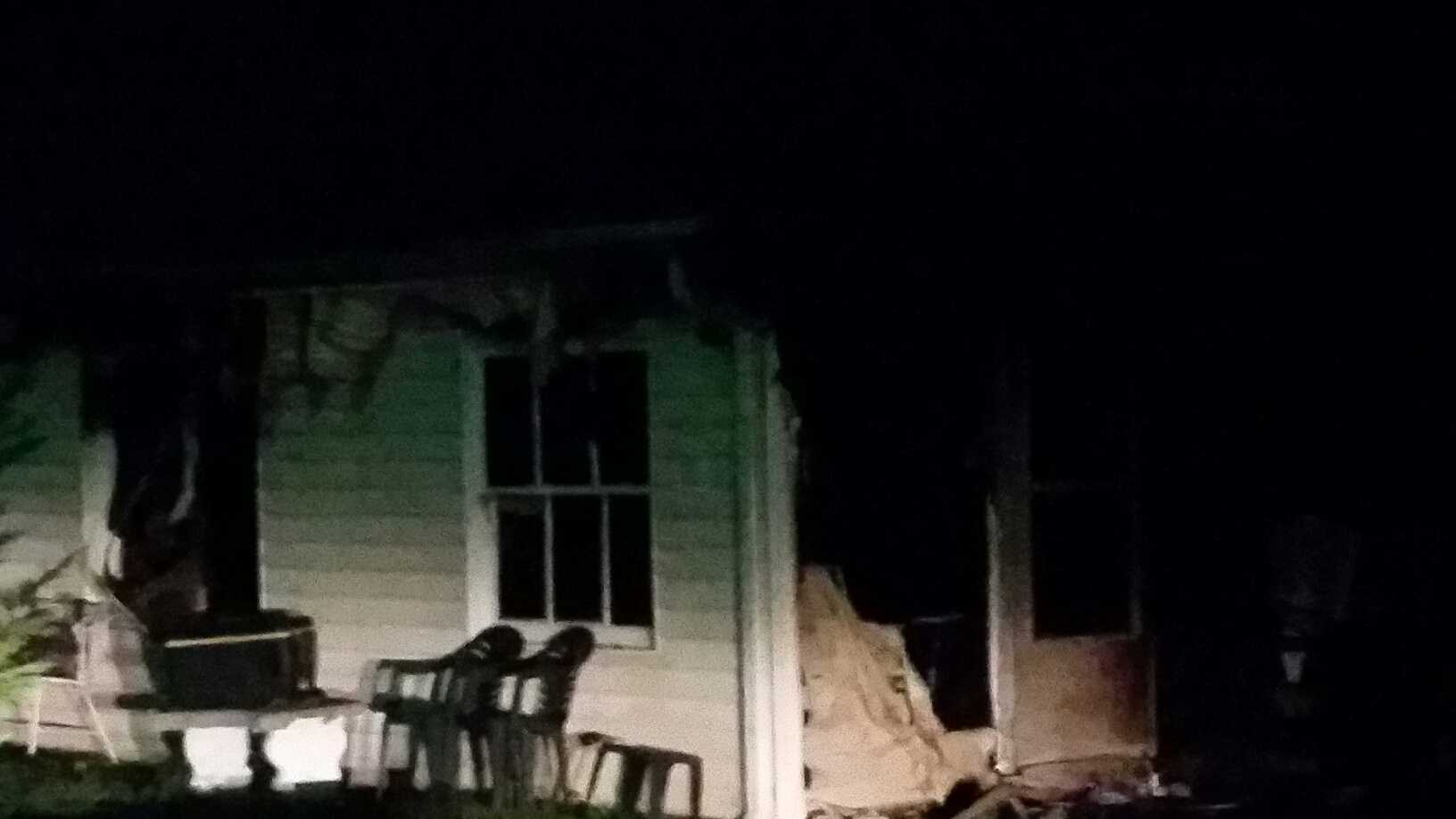 Firefighters respond to early-morning fire
