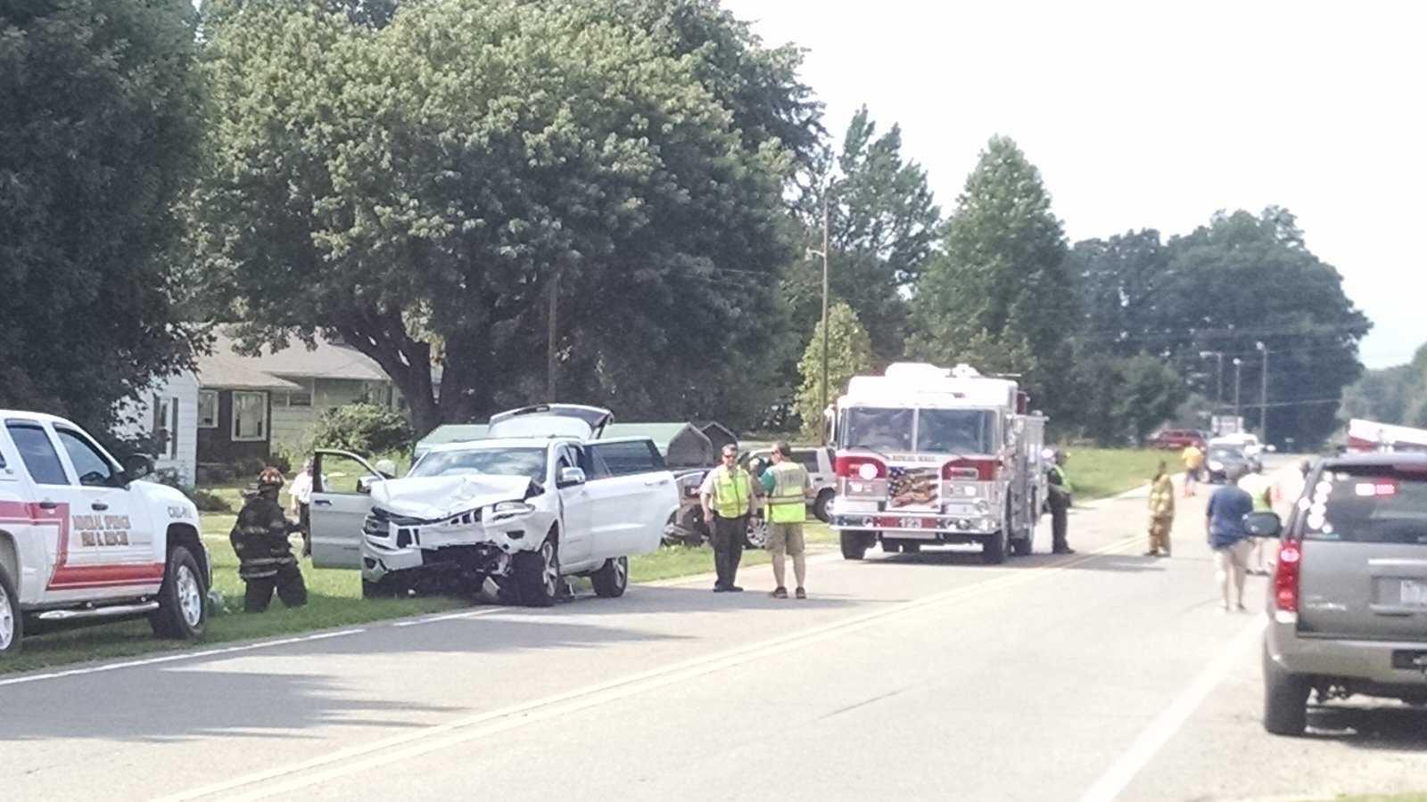 University Parkway Accident