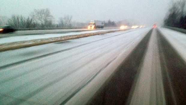 Generic Snow, Ice on Road
