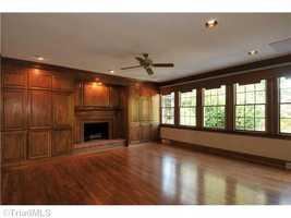 Beautiful hardwood floors throughout the home