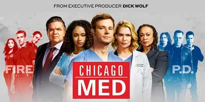 Chicago MED: SEASON PREMIERE SEPT 22 | THURSDAYS 9:00 pm. Executive producer Dick Wolf delivers the newest installment of the compelling Chicago franchise, an emotional ride through the day-to-day chaos of the city's most explosive hospital and the courageous team of doctors that holds it together. They will tackle unique new cases inspired by topical events, forging fiery relationships in the pulse-pounding pandemonium of the emergency room, and through it all, familiar faces from the Chicago Police and Fire departments will intertwine as this third team of Chicago heroes hits the ground running. One-hour drama.Cast: Oliver Platt, S. Epatha Merkerson, Laurie Holden, Nick Gehlfuss, and Yaya DaCosta.