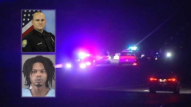 Winston-Salem police officer Nicholas Powell and suspect Gary Lynn of Raleigh shot during traffic stop on Interstate 40 Business