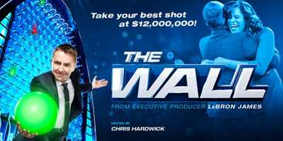 The Wall: Coming Soon. Packed with drama and action, this is a game that the entire family can root for together! A challenge infused with the thrill of victory and the agony of defeat, where regular people can achieve their dreams with one bounce of the ball. Hosted by comedian Chris Hardwick and set in a large, glossy arena centering on the colossal 40-foot wall, the gameplay involves quick thinking, shrewd strategy and a little luck. Played by contestant pairs, this is an unpredictable journey with giant swings of fortune and millions of dollars passing through the contestants' hands throughout the hour. One-hour alternative series. Hosted By: Chris Hardwick