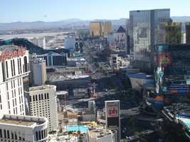 So many places to visit while in Las Vegas for the wedding party and couple. Several chapels have wedding ceremonies as well as the hotels and casinos.