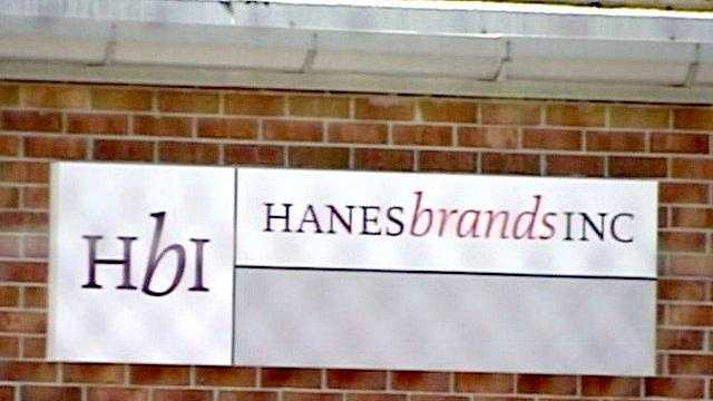 Hanesbrands sign - 17552928