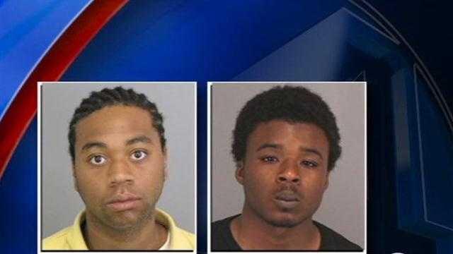 Burglars Shot