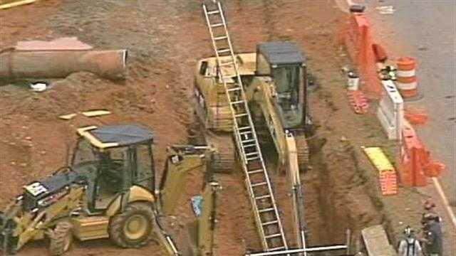 job site accident