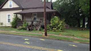 Armed robbery crash house