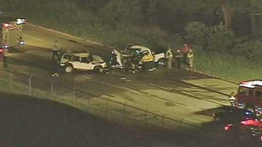 Highway 101 fatal wreck