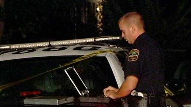 Woman shot, car stolen