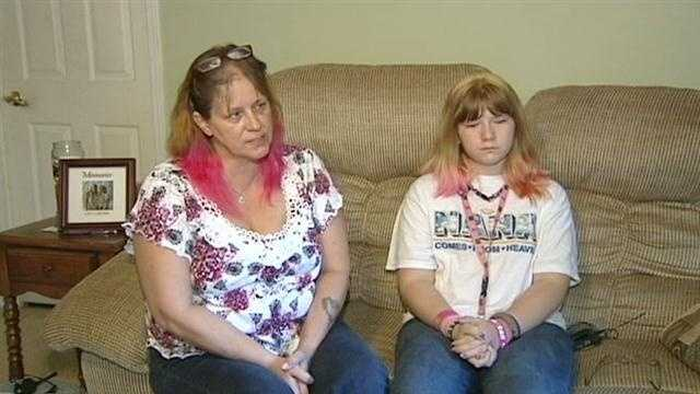 Pink hair color gets student in trouble