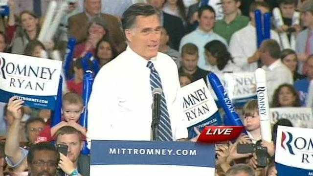 Mitt Romney in Asheville