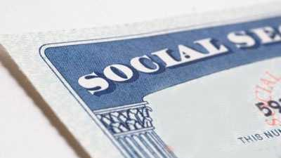 Social Security card generic