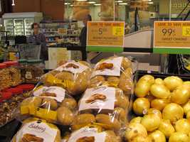 Publix best price on white potatoes is two 5-pound bags for $5.