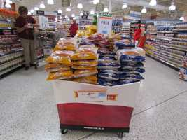 The large bag of Pepperidge Farm stuffing are two for $4 at Publix.