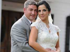 Sam belongs to newlywed sports reporter Marc Dopher.