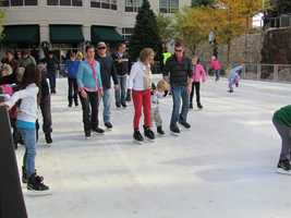 The admission includes skate rental.